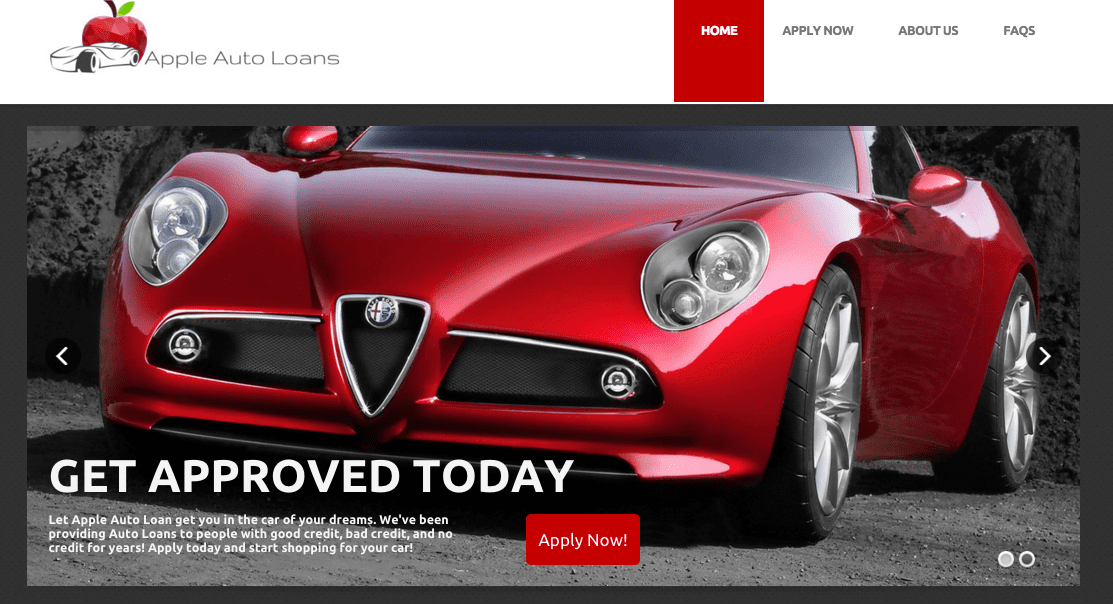 apple_auto_loans_website_infinitemedia