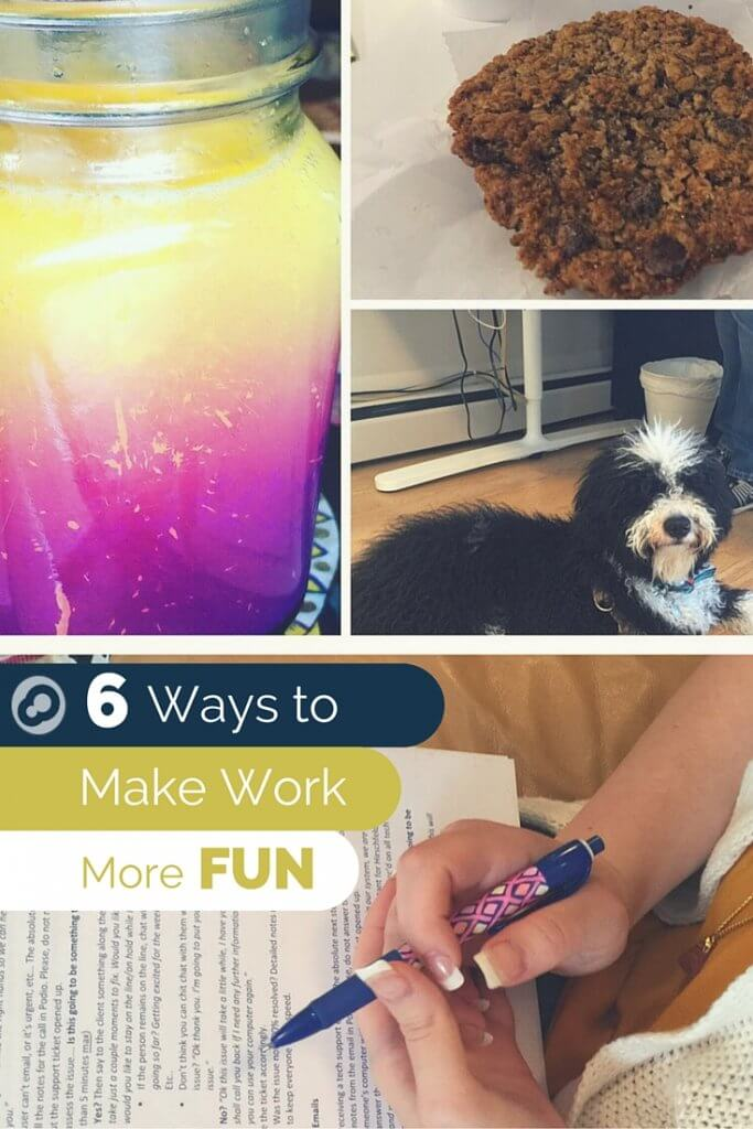 6 ways to make work more fun