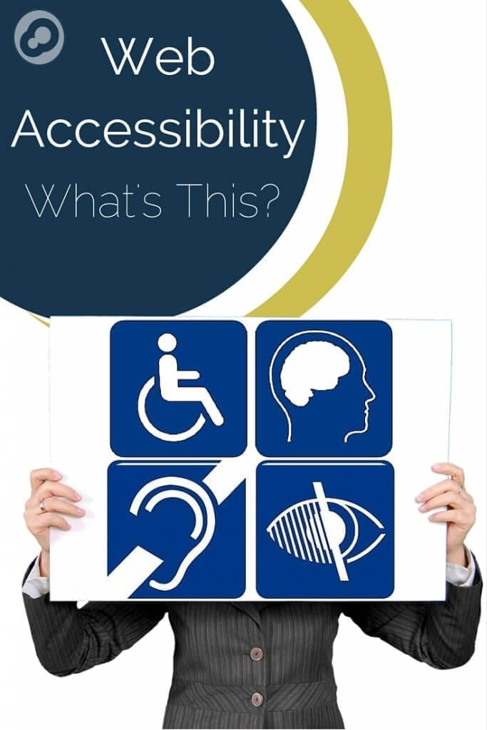 web accesibility, what's this?