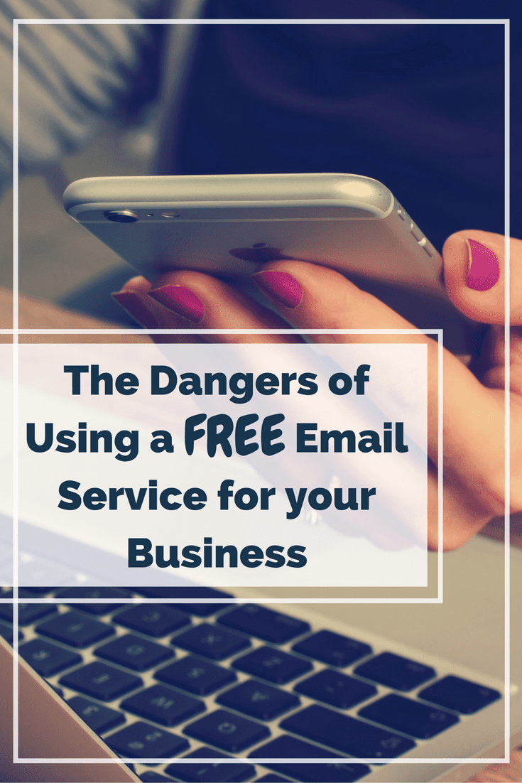 Dangers of Using Free Email Service for Your Business | Infinite Media