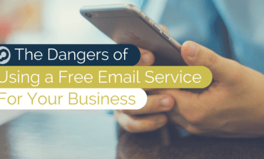 the dangers of using a free email service for your business