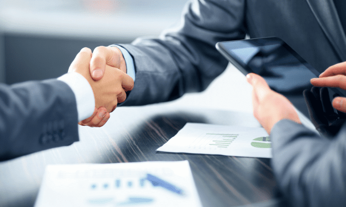 shaking hands service level agreement